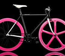 Inspiring picture bicycle, bike, fixed gear, fixie, pink