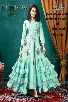 aryadress,maharani gown,designfull gown,fancy woman gown | Arya Dress Maker Latest Dress Design, Long Dress Design, Stylish Dress Designs, Designer Party Wear Dresses, Kurti Designs Party Wear, Designer Gowns, Party Dresses, Bridal Dresses, Indian Gowns Dresses