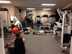 This is what happens when 5SOS work out.