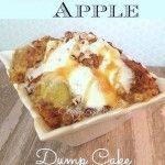 Caramel Apple Dump Cake Recipe with 4 ingredients