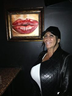 "Allure Meets Big Ang of Mob Wives : Daily Beauty Reporter :  Blink and you'll miss the Drunken Monkey, the modest storefront bar in Staten Island owned by Angela ""Big Ang"" Raiola, the star of VH1's Mob Wives. But you will never, ever miss Big Ang. Last Friday night, Allure contributing..."