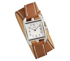 Hermes Cape Cod. One of my absolute favorite watches. Wrap Watches, Jewelry Watches, Women's Watches, Jewelry Case, Hermes Watch, Wear Watch, Equestrian Style, Fashion Accessories, Women Jewelry