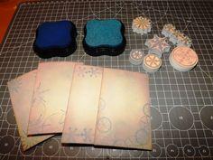 Papírové razítkované minialbum   Blog Aladine