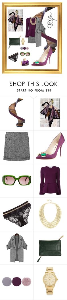 """""""Untitled #316"""" by xocolate ❤ liked on Polyvore featuring Authentic Models, Oliver Gal Artist Co., Rebecca Minkoff, Sophia Webster, Marni, Scanlan Theodore, La Perla, BCBGMAXAZRIA, Jolie and Smith & Cult"""
