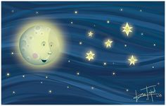 Mjesec i zvijezde by RasTajedi
