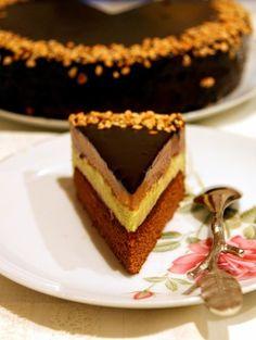 Chocolate and ricotta cake - HQ Recipes Russian Cakes, Russian Desserts, Russian Recipes, Torte Cake, Pie Cake, Sweet Recipes, Cake Recipes, Chocolate Pudding Recipes, Bulgarian Recipes