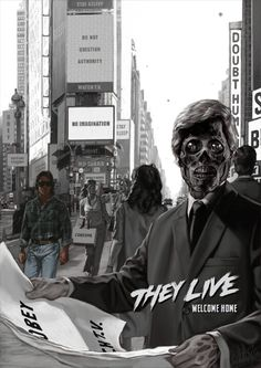 OBEY AND CONFORM by ~kopfstoff (Movie: They Live)