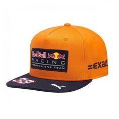 Red Bull Formula 1 Racing 2017 Max Verstappen Special Edition SPA Flat Brim Hat