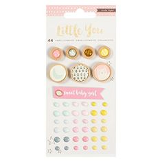 Crate Paper Little You Girl Embellishment Mix Small * Visit the image link more details. Note:It is affiliate link to Amazon. #twitch