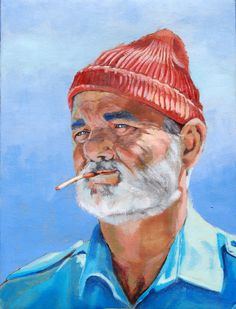Here's a painting of Bill Murray - Imgur