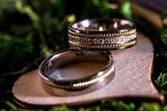 #wedding bands #diamonds