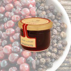 Confit de cirese cu piper, 100% natural, produs in Romania dupa metode traditionale frantuzesti, fara aditivi sintetici, coloranti sau conservanti.