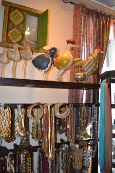 'Rajastan' shop selling cloths, jewellery, shoes and details from India