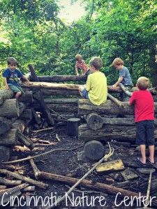 Cincinnati Nature Center ~ A great park to explore nature in a hands on way and to take a peaceful walk in the woods!