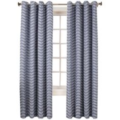 Sun Zero™ Cadiz Room-Darkening Grommet-Top Curtain Panel  found at @JCPenney