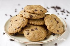 Vegan Chocolate Chip Cookies : Zizi's Adventures – Real Food, Real Stories