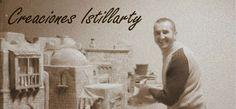 Creaciones Istillarty: Como hacer un Portal de Belén Christmas Nativity Scene, Christmas Bows, Model Castle, Diy Bow, Sketchers, Quilts, Cards, Movie Posters, Portal