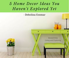 This article is about unique home decor ideas which you might not have explored before. These suggestions will surely help you to give your home a new look.