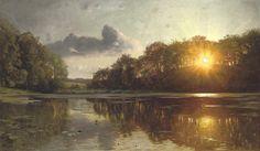 Картинки по запросу Peder Mork Monsted(1859-1941)