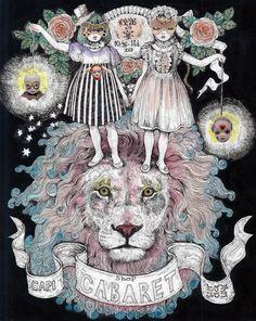 Whimsical art by Higuchi Yuko Art And Illustration, Pattern Illustration, Illustrations Posters, Kunst Inspo, Art Inspo, Pierrot, Japanese Artists, Art Studies, Conceptual Art