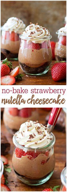 No-Bake Strawberry N