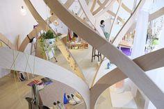 成瀬・猪熊建築設計事務所 » ひとへやの森インタラクティブな風景展