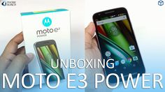 Moto E3 Power Unboxing (Retail Unit) - Budget Android Smartphone https://youtu.be/iU1HfMDoT4s
