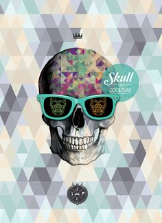 Skull is Coolture // Design Art Collection // CREDEAL by IndustriaHED™ Branding Co., via Behance