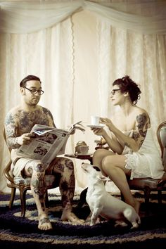 """Don´t be afraid of tattooed people"" 