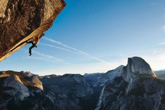 """Fitness for Sports and Recreation"" requires involvement in sports such as rock climbing. Try it out in Yosemite National Park in California!"