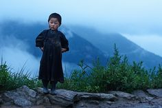 Young Tamang tribal boy, Langtang region, Nepal  Copyright (c) 2008 by Mitchell Kanashkevich. All rights reserved.