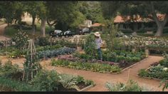 """meryl streep's cutting garden from """"it's complicated"""""""