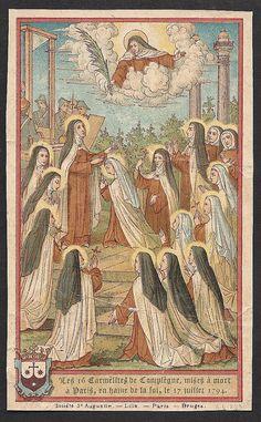 16 Carmelite Martyrs