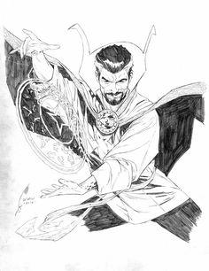 Doctor Strange by Joe Quesada