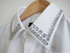 DIY Diamond Collar Inspired Shirt – Second Kulture