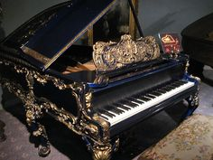 Liberace Collection - Blue & Gold