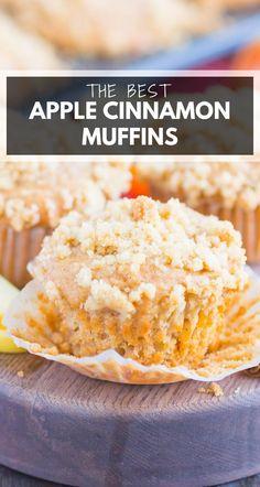 Apple Recipes, Fall Recipes, Baking Recipes, Sweet Recipes, Cookie Recipes, Dessert Recipes, Muffin Recipes, Recipes Dinner, Fall Desserts