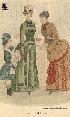 Women S Fashion For Broad Shoulders 1880s Fashion, Victorian Fashion, Broad Shoulders, Womens Clothing Stores, Fashion Plates, Style Guides, Feminine, Costumes, Womens Fashion