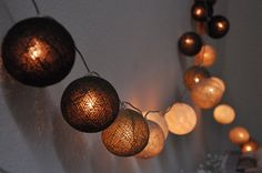 CLEARANCE Modern Metallics Mini Prosecco String Table Lights Decorations
