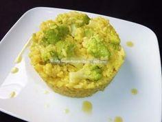 Risotto con zafferano e broccolo romano, Foto 2