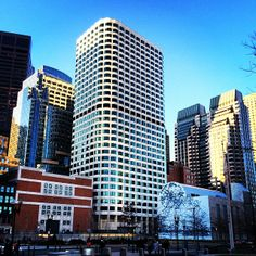 """Looking into downtown Boston at the Matthew Ritchie mural """"Remanence: Salt and Light (Part II)"""" www.instagram.com/visitboston"""