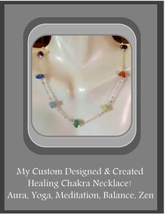 Rainbow jewelrychakra by ArtistiCreationsRose on Etsy