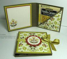 Tea Bag Holder for ladies tea CLOcards: DOstamperSTARS Creative Challenge: Teabag Card