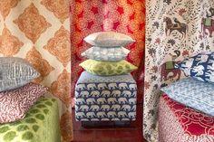John Robshaw fabric for Duralee