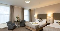 Win a stay for 2 in a newly refurbished Premium Room with breakfast & dinner - Competitions. Thing 1, 1st Night, Breakfast For Dinner, 2 In, Competition, Bed, Room, Furniture, Hotels