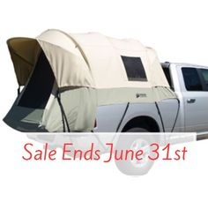 Kodiak Canvas Truck Bed Tent 7206 5.5 to 6.8 ft Camping Equipment