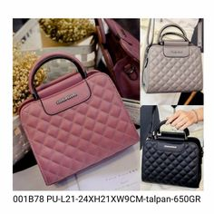 001B78 137.000-MATERIAL-PU-SIZE-L21-24XH21XW9CM-WEIGHT-650GR-COLOR-PINK GREY BLACK-(ADA-TALIPANJANG--ZIPPER--1RUANG)  Hubungi kami di:  Line: girlia_id Telegram: @girliaid CS1 : D0D1B201 / WA: 081347103932 CS2 : D21B1E5B / WA: 08125658895 IG testi: @testigirlia  Girlia Fashionstore your chic #dailygears  #beautiful #fashion #instafashion #purse #shopping #stylish #girliaproject #girliafashionstore #tasimportmurah #tas #tasfashion #grosirtasmurah #tasbatammurah #taskorea #tasbranded…
