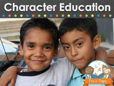 Character education ideas for your preschool, pre-k, and kindergarten classroom