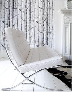 Chair & Wallpaper
