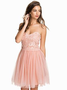 Short Tulle Dress - Nly Eve - Pink - Party Dresses - Clothing - Women - Nelly.com Uk
